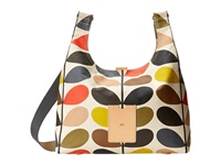 Orla Kiely Matt Laminated Classic Multi Stem Midi Sling Bag Multi Backpack Bags