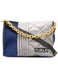 Furla Bomber Shoulder Bag Blue