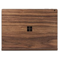 Toast Wooden Surface Book Cover Walnut