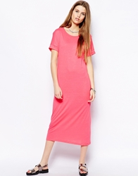Only Midi T Shirt Dress Pink