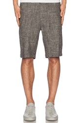 Shades Of Grey Flat Front Short Gray