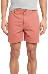 Bonobos Men's Stretch Washed Chino Shorts Rich Coral