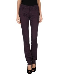 Jet Set Denim Pants Dark Purple