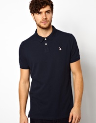 Jack Wills Polo With Pheasant Logo Navyblue