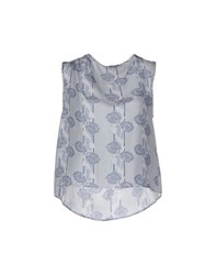 Boy By Band Of Outsiders Topwear Tops Women Sky Blue