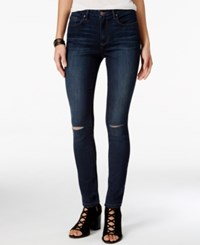 Jessica Simpson Ripped Skinny Jeans Medium Blue