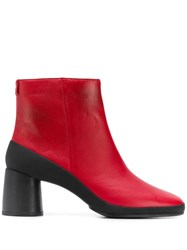 Camper Upright Boots Red