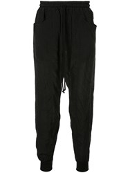 Song For The Mute Tapered Track Trousers Black