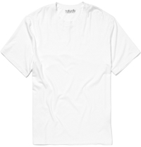 Derek Rose Basel Stretch Micro Modal T Shirt White