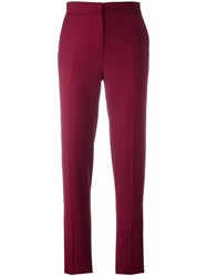 Each X Other Tailored Slim Fit Trousers Pink Purple