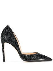 Jimmy Choo Babette Glitter Court Shoes 60
