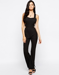 Jovonna Walk The Walk Jumpsuit Black
