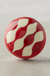 Anthropologie Tilly Inlay Knob Pink