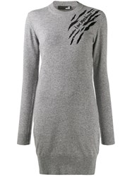 Love Moschino Embellished Detail Knit Dress 60