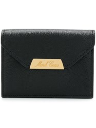 Mark Cross Logo Plaque Wallet Black