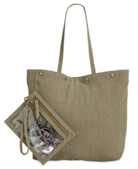 Steve Madden Easton Diy Large Tote A Macy's Exclusive Style Army Green
