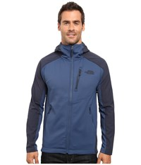 The North Face Tenacious Hybrid Hoodie Shady Blue Urban Navy Men's Sweatshirt