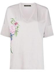 Mr And Mrs Italy Floral V Neck T Shirt 60