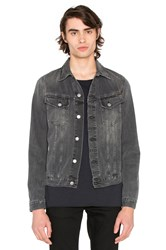 Nudie Jeans Billy Denim Jacket Desolation Grey