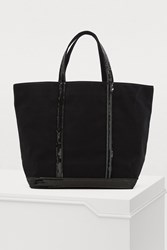 Vanessa Bruno Cotton And Sequins Medium Tote