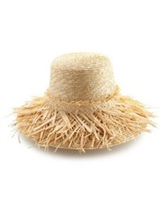 Lola Hats Hula Skirt Raffia Sun Hat Natural