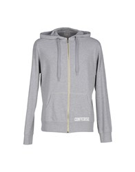 Converse All Star Topwear Sweatshirts Men Grey