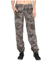 Hard Tail Bemberg Racer Pants Camo Nickel Women's Workout Taupe