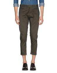 Yes London Casual Pants Military Green