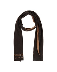 Aquascutum London Aquascutum Oblong Scarves Dark Brown