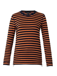 Marc By Marc Jacobs Tomiko Striped Zip Top