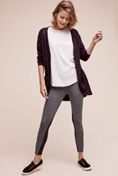 Anthropologie French Terry Leggings Dark Grey