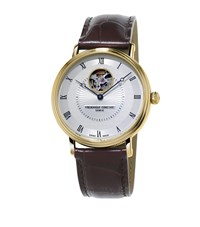 Frederique Constant Classics Automatic Heartbeat Watch Unisex Gold