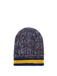 Gucci Cable Knit Hat Blue Multi