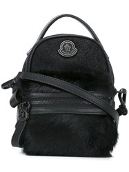 Moncler Mini Backpack Crossbody Bag Black