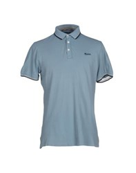 Woolrich Topwear Polo Shirts Men Sky Blue