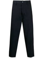 Haikure Straight Leg Trousers Blue