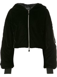 Puma Elongated Sleeves Hooded Jacket Black