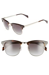 Draper James 55Mm Sunglasses Tortoise