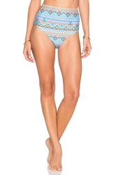 Minkpink Ray Of Light Bikini Bottoms Blue
