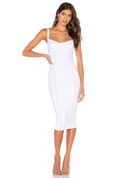 Nookie Chicago Midi Dress White