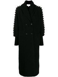 Temperley London Chrissie Cable Knit Cardi Coat 60