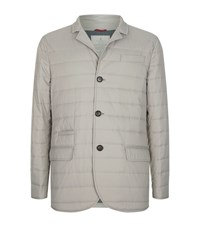 Brunello Cucinelli Quilted Jacket Male Beige