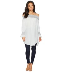 Scully Dixie Top Blue Clothing