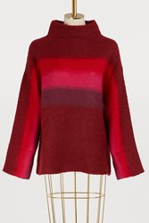 Rag And Bone Holland Sweater Burgundy