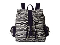 Roxy Delhi Backpack Wave Jacquard Combo Sand Piper Backpack Bags Gray