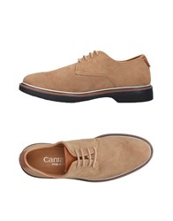 Cantarelli Lace Up Shoes Sand