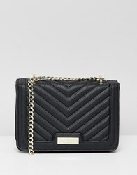 Lipsy Quilted Multiway Cross Body In Black Black