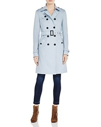 Phase Eight Tabitha Double Breasted Trench Coat Baby Blue