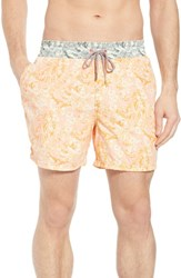Maaji Malibu Sunset Swim Trunks Orange