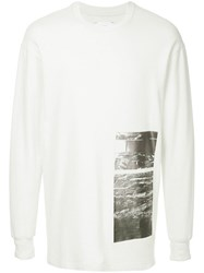 Song For The Mute Long Sleeved Sweatshirt White